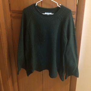 NWT She & Sky sweater, green, L